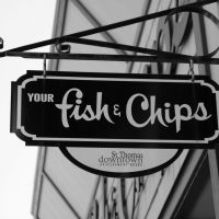 Your Fish & Chips Sign
